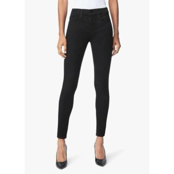Joe's Jeans The Icon Mid Rise Skinny Jeans Black